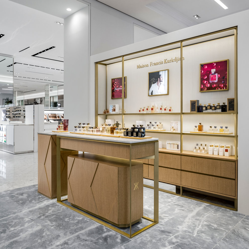Commercial Architectural Photography - Maison Francis Kurkdjian Saks Fifth Avenue