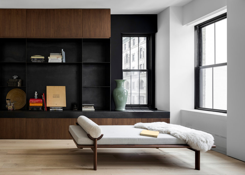 Midtown NYC Residence Built In