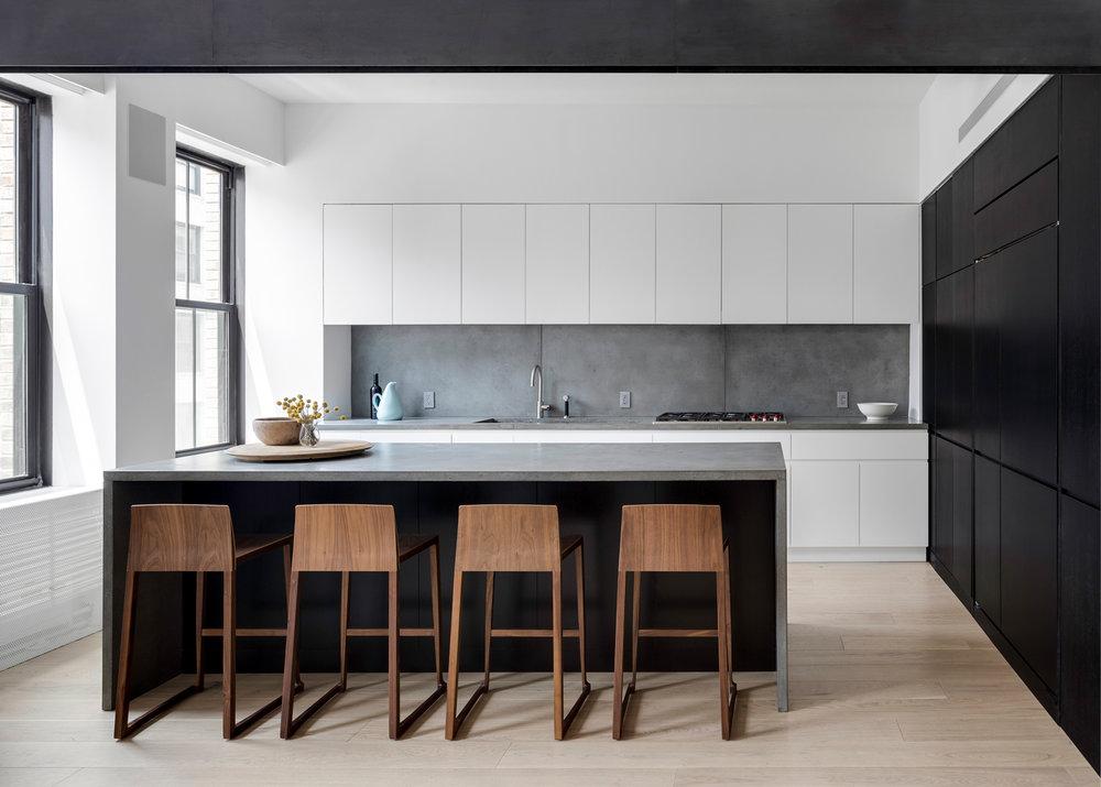Midtown NYC Residence Kitchen