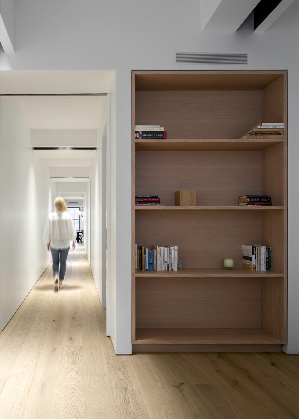Midtown NYC Residence Hall & Bookcase