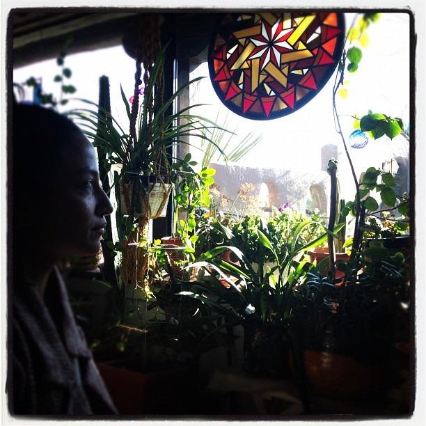 Green room (Taken with  instagram )
