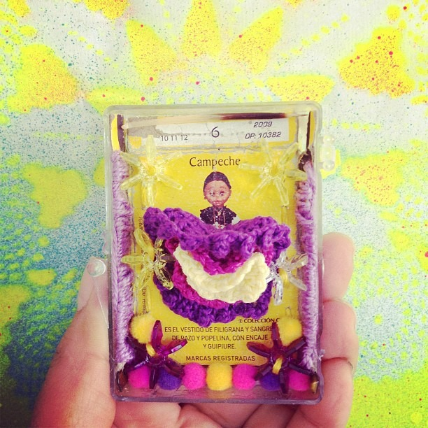 matchbox shrine (Taken with instagram)