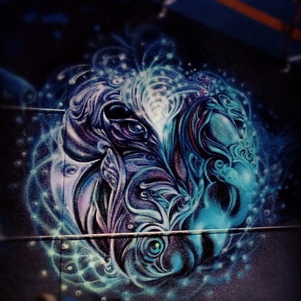Werc's Innergalactic piece @ Folklore Festival (Taken with Instagram)