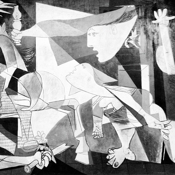 Guernica #picasso (Taken with  Instagram )