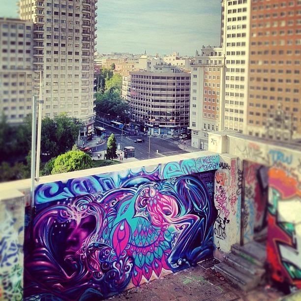 High on #madrid #werc #gera #madridgraff  (Taken with  Instagram )
