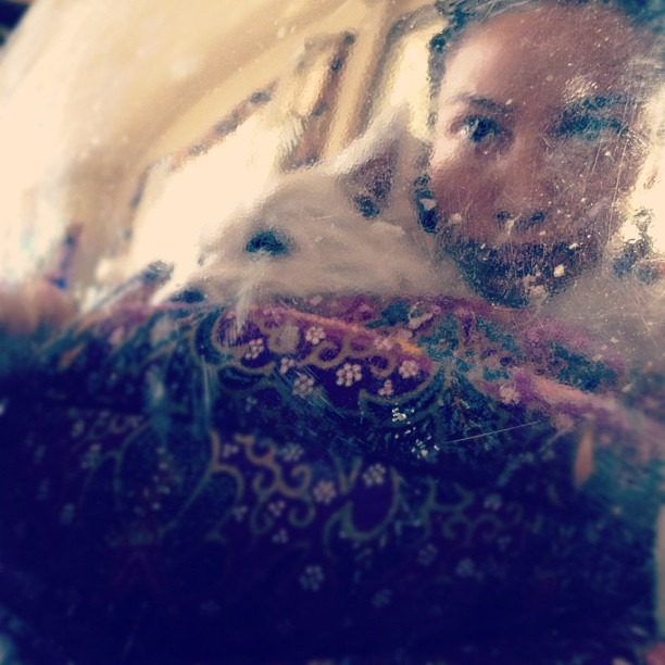 Leelee n I Inside (Taken with  Instagram )