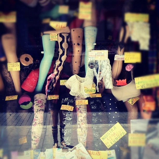 #socks #reflection #madrid (Taken with  Instagram )