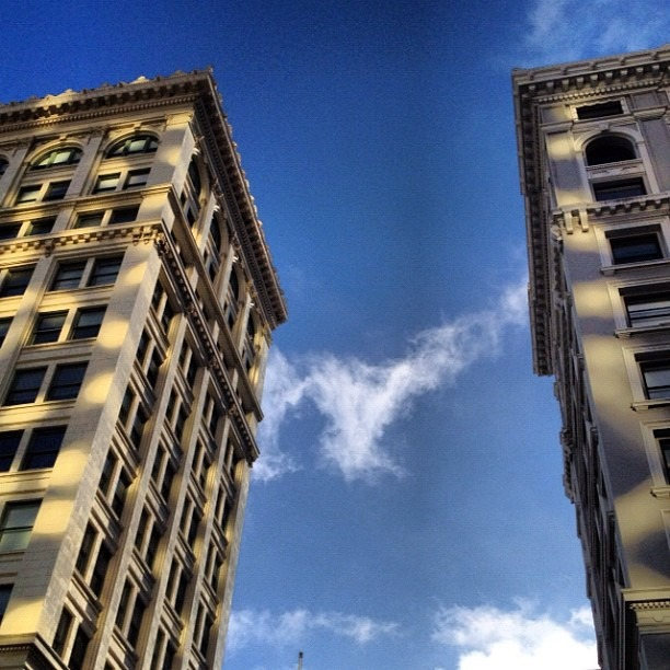 #downtown #sanfrancisco #nofilter (Taken with  Instagram )