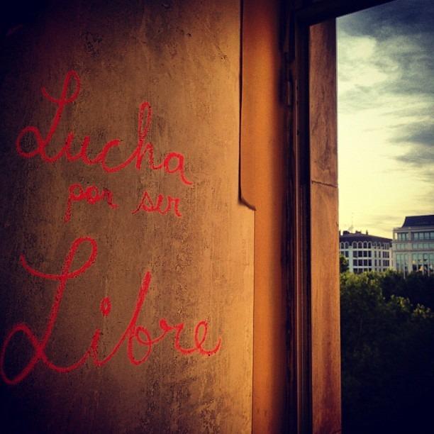 #luchaporserlibre #madrid #geragraff (Taken with  Instagram )