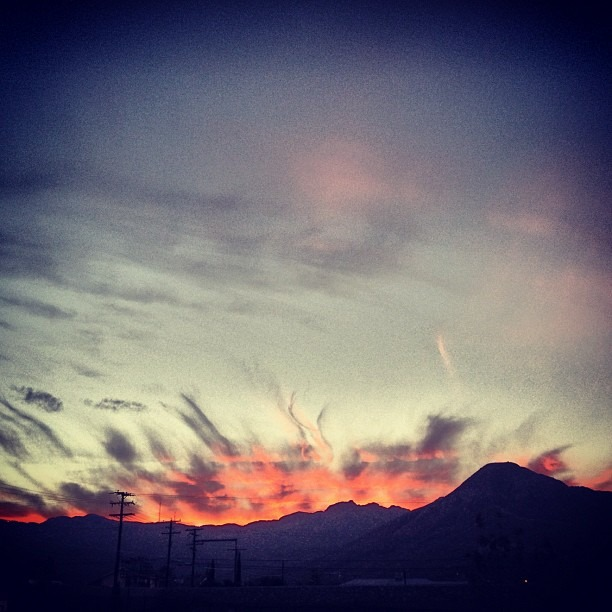 #chucotown #mountains #onfire tonight #firesky