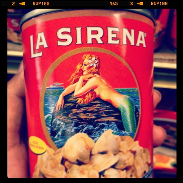 #sirena #logo #babyclams #canfood #art #mermaid #nautical #pinup