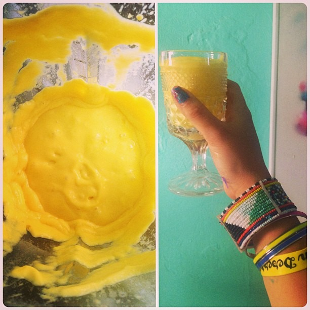#cheers to a #successful #neondesertmusicfestival2013 #liveart #performance #energy #eat & #create & #wear #peaches & #turquoise #life