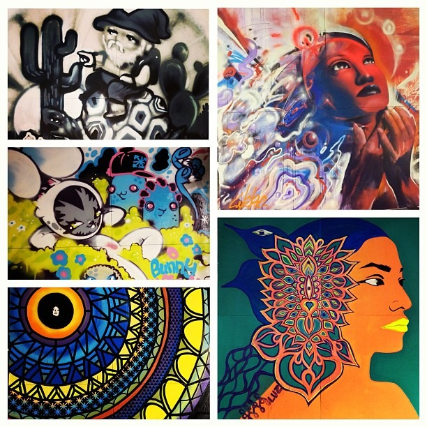 #neondesertmusicfestival #collage of 1/2 of the #liveperformance #visualartist #lineup #coloring #up the #beautiful #desert @wercworldwide @persue1 @exister81 @splurgeo @ndmf  (at Neon Desert Music Festival 2013)