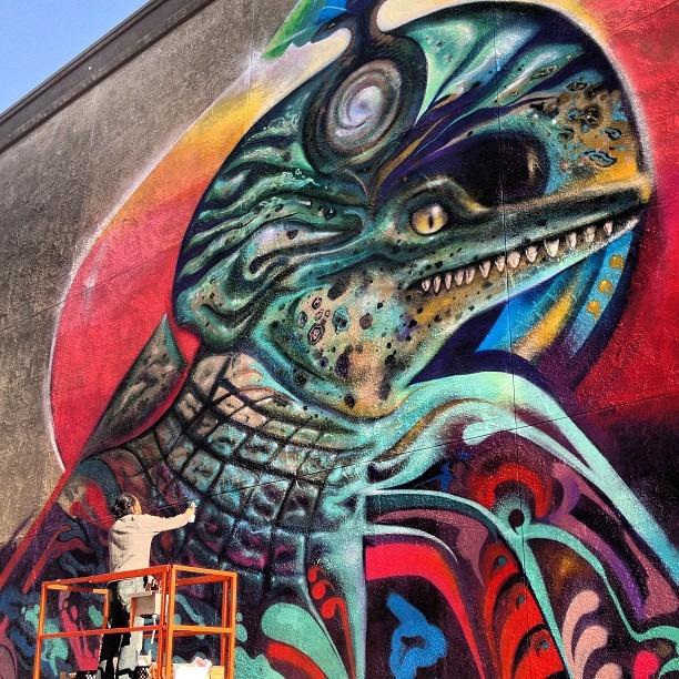 #Werc #westcoasting #tour #santaana #cali #love #graffiti #wall #mural #nofilter @wercworldwide