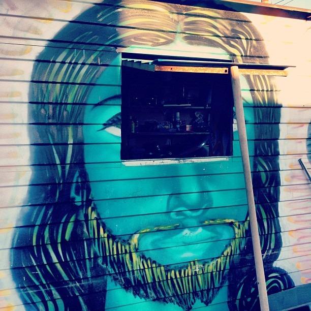 #apocalyptic  #turquoise #Jesus #thirdeye #unveiled #shade #suncity #chucotown #spraypaint #streetart