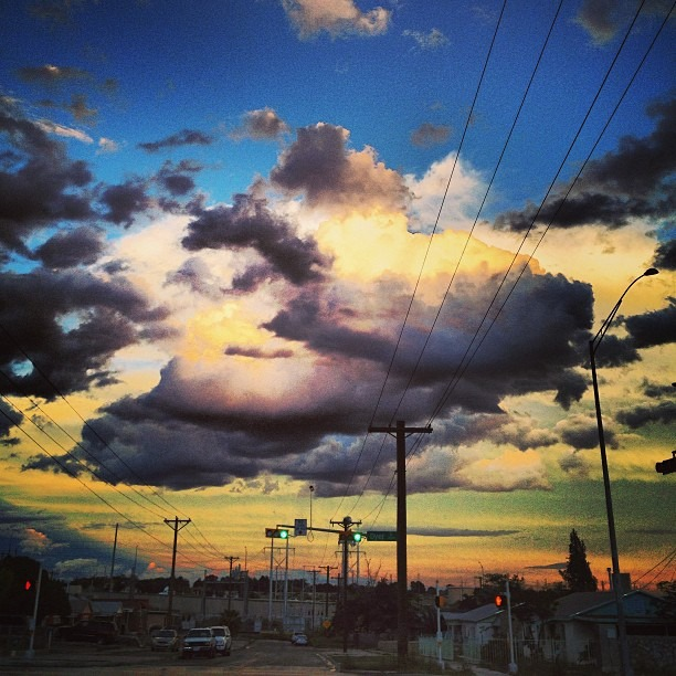 #love the #rain & #sun #nature #painting #creation #chucotown #clouds for days in the #sky
