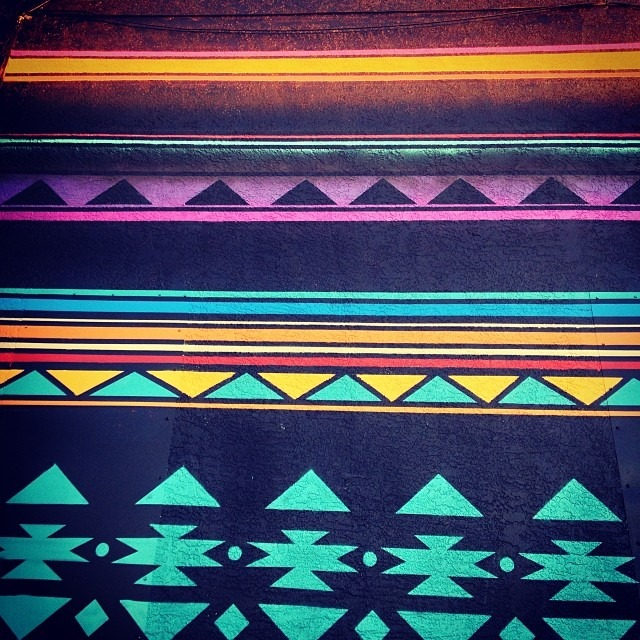 #Albuquerque #preview of new #psychedelic #sarape #wall #native #love #tribal #textile #sacred #patterns