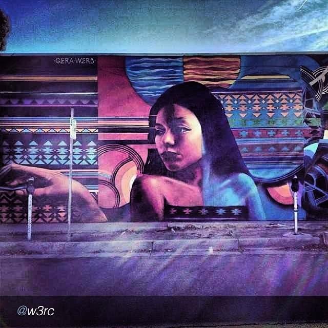 "#native #love #indigenous #power  @w3rc ""Seeing thru the #patterns @allcitypaint #LA #underground #nm #albuquerque #burque #werc with @geraluz @isaiascrow #progress photo"" via @InstaReposts"