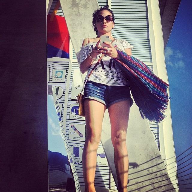 #herzogdemeuro #swiss #parkinglot #colette x #alchemist #artdrivethru #beachedbasel #selfie #absorbing last #rays b4 that NY cold