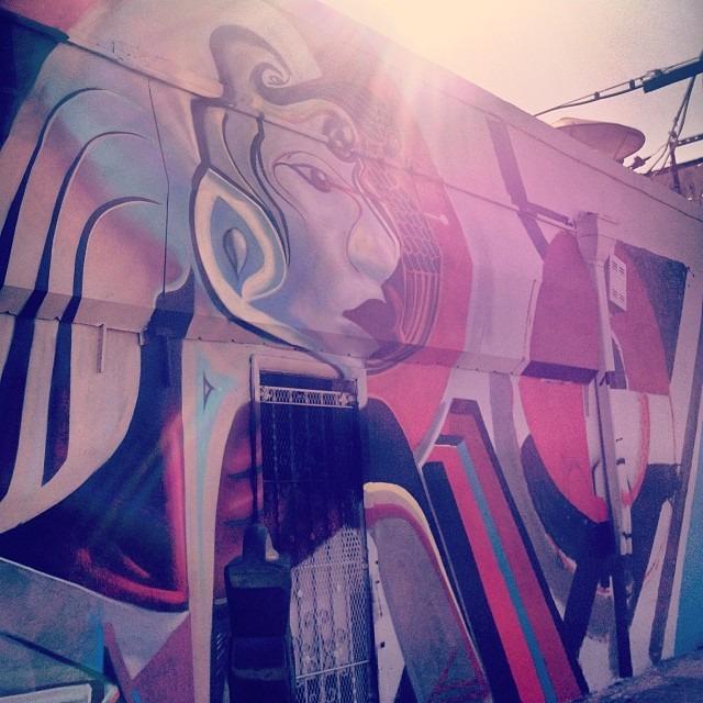 #more @w3rc #new #progress #shot #wynwoodwalls #wynwood #artdeco #miami #heart #door #glow #light #artbasel #portrait @instagrafite