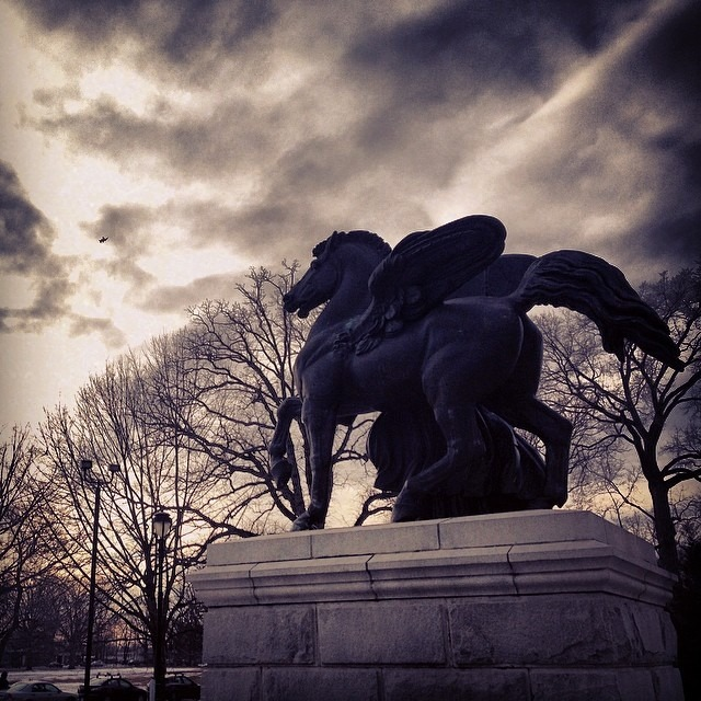 #pleasetouch #museum in #philly #family #roadtrip #historic #pegasus #statue