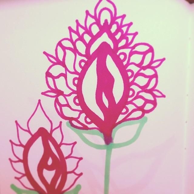 #love #vpower #flower #yoni #orchid #punani #art #flor de #puravida
