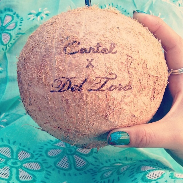 #deltoro #wynwood #coconutcartel #refreshening #nourishment #artbasel #miami #turquoise #love #potd