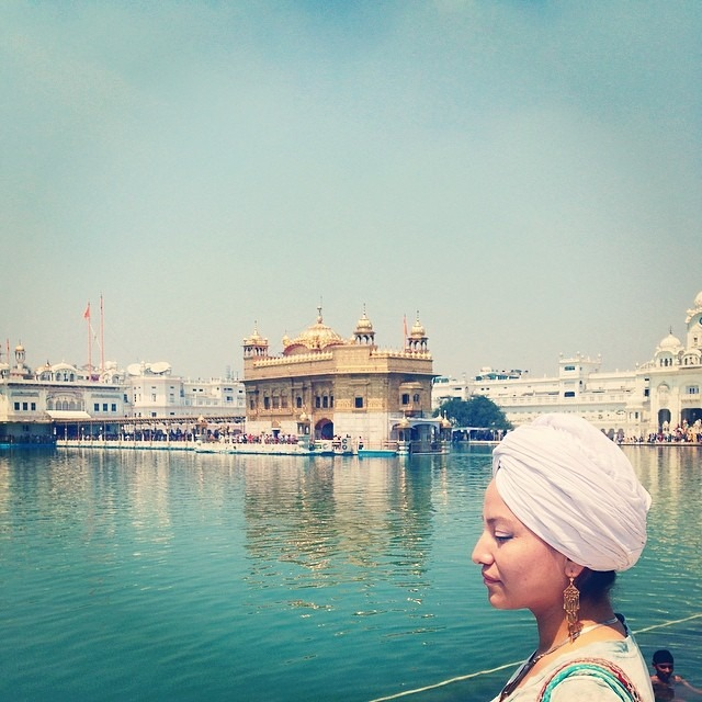 #goldentemple #sikh #culture #religion #rocking the #turban #punjab #love #india #travel