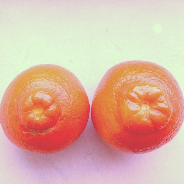 #good #morning #smoothie #prep #tangerine #nipples #areola #love #bobbies #sexyfruit