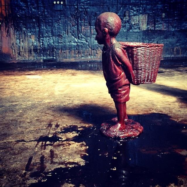 #karawalker #molasses #sculpture #installation #dominosugar #factory #brooklyn #sundayfunday
