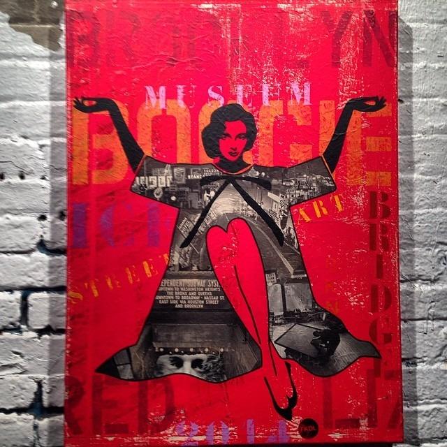 #outandabout in #thehood #brooklyn #FKDL #redliz #bushwickcollective #artshow