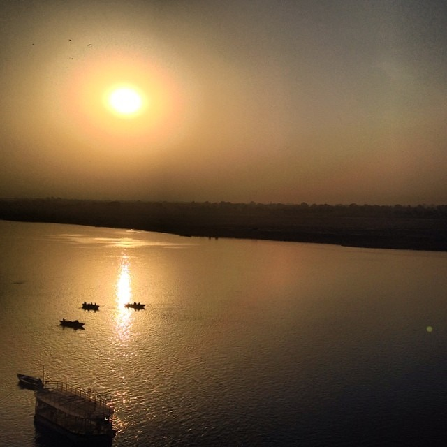 #goodmorning #Ganges #river #india #hindu #holy #gangas #water #varanasi #banaras  #kashi #travel #love