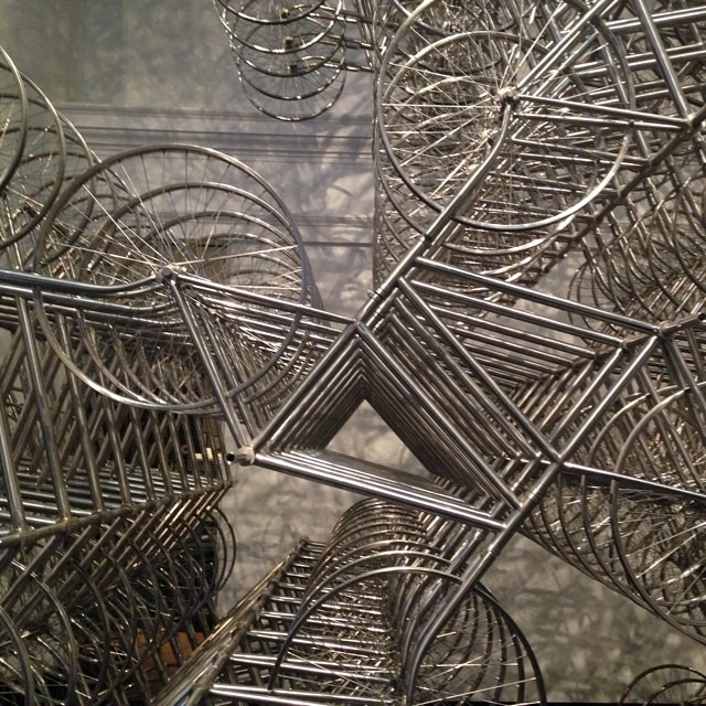 #nevertoolate #aiweiwei #madeit #brooklyn #vida #infulleffect #sacred #cycle #installation (at Brooklyn Museum)