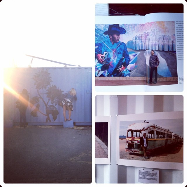 Got 2c @stefanfalke 's documentation photo #book of #borderartists at #photovillenyc #brooklyn #amor por #Juarez (at Brooklyn Bridge Park - Pier 5)