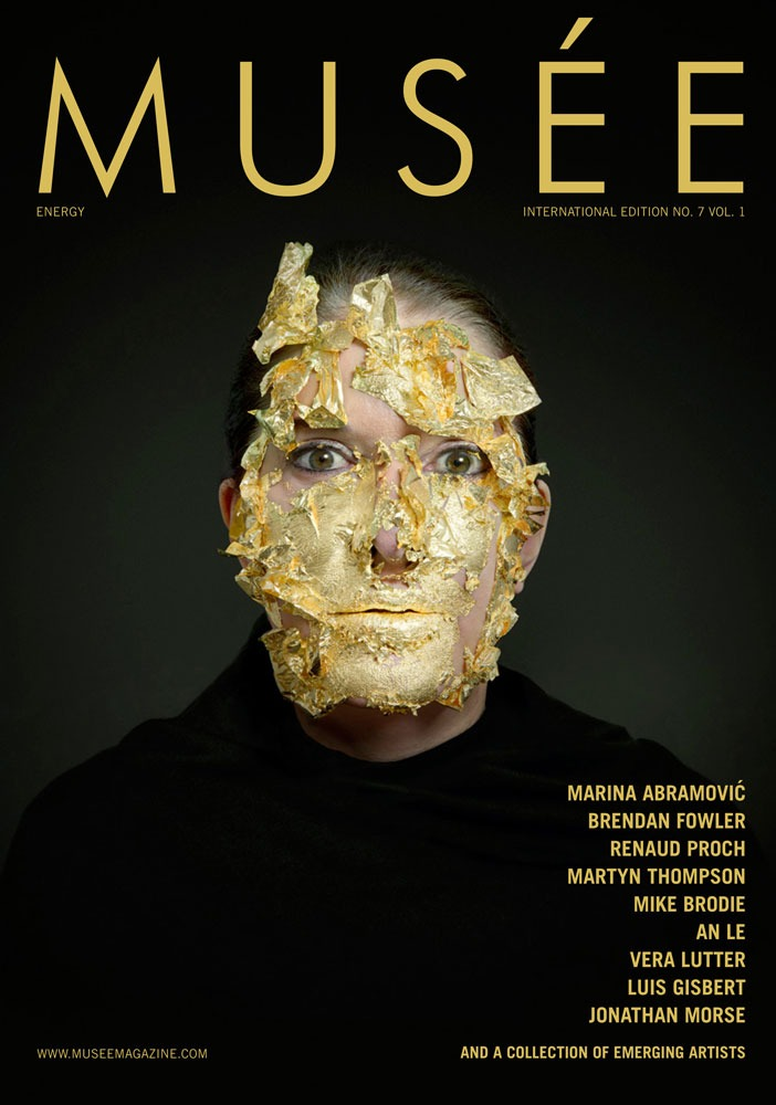 museemagazine :     Musée Magazine Issue 7 Vol. 1 released.   In the 1st of 2 volumes, Musée's 7th issue, Energy, features a selection of interviews and profiles of established artists and photographers Marina Abramović, Thomas Shauer, Brendan Fowler, Renaud Proch, Martyn Thompson, Mike Brodie, Vera Lutter, Luis Gispert, and Jonathan Morse. Musée's 7th issue brings to light the diversity inherent in the nature of energy, and how one perceives where it comes from, what it means and how it exists within ourselves and the world around us. Each artist's work yields unique aspects of the essence of energy. Volume 1 also contains food photography, a first for Musée. Restauranteur, Georgette Farkas, whose restaurant Rotisserie Georgette opens at the end of October, conducts an interview with photographer, Thomas Shauer. In addition, there is a fashion portfolio specifically shot for Musée by An Le, the works of 23 emerging photographers and a point / counterpoint discussion.     Check out the Energy Issue of Musee, 3 of my photos are featured inside.