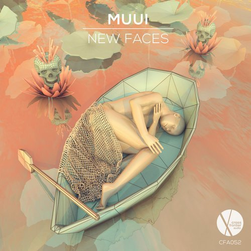 MUUI - New Faces EP                                                            artwork by  Stella Gelesh