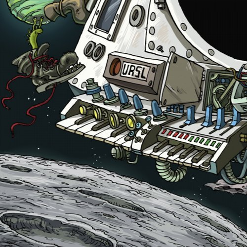 VA - URSL Wintergalactic                          artwork by  Philip Cassirer