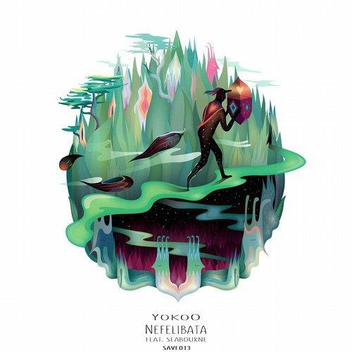 Yokoo - Nefelibata EP                                   artwork by   Šumski