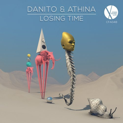 Danito & Athina - Losing Time                                          artwork by  Stella Gelesh