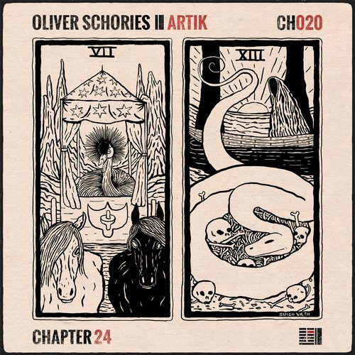 Oliver Schories - Artik EP                                                 artwork by  Simon Vaeth