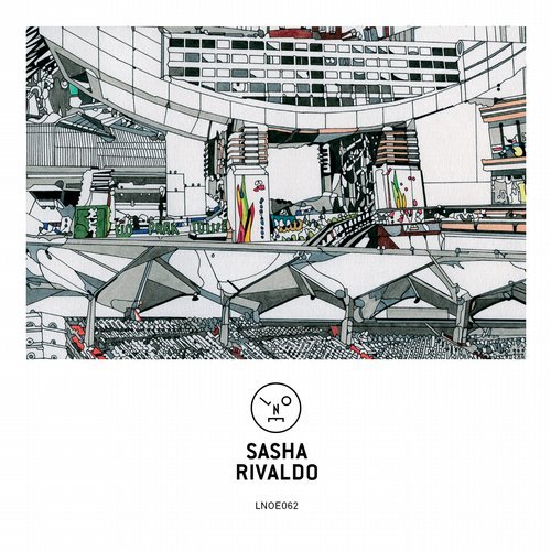 Sasha - Rivaldo EP                                                            artwork by  Susie Wright