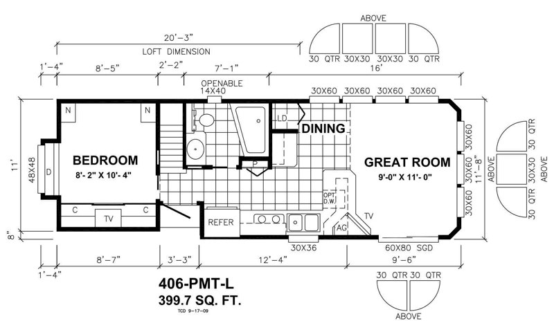 406-PMT-Loft VALUE SERIES $96,775 STANDARD SERIES $104,775 FOAM CORE SERIES $108,775  All Prices F.O.B. Seattle Dock