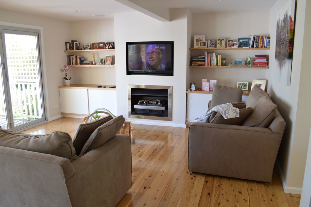 Existing Living Area
