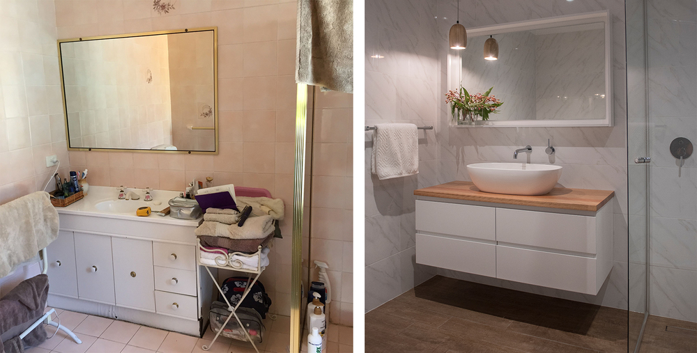 Before & After: from mouldy 80s relic to fresh & streamlined