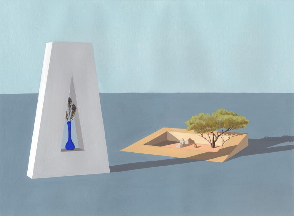 Her Mesquite Tree