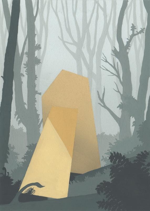 Forest Park No. 4 (Stillness)