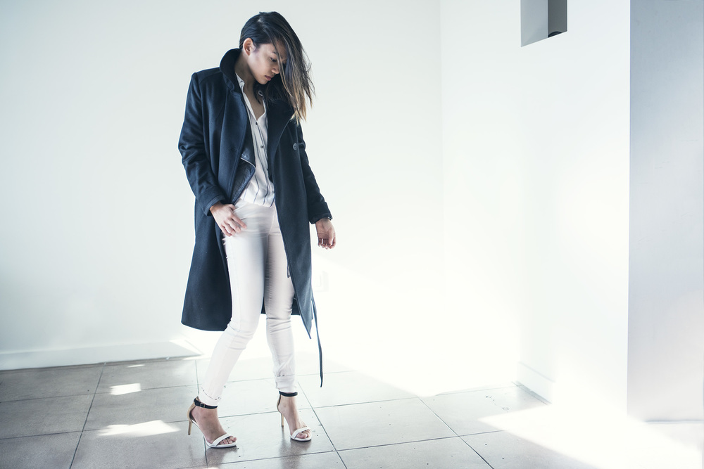 JUSTFENG HEYYEH EVERLANE TRENCH CHRISTMAS