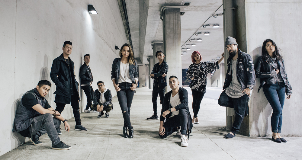L to R : Chad Mayate , Jon Shih , Nick Kim , Jino Abad , Courtney Yeh , Jonnelle Monzon , Gerald Nonado , T Watch , Feng , Dani Chang (missing Yosuke Murakami)
