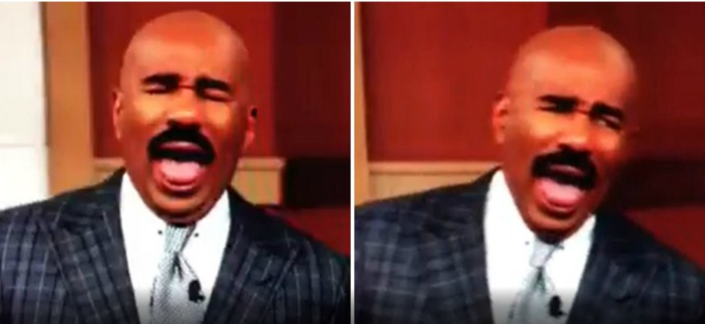 steve harvey racist
