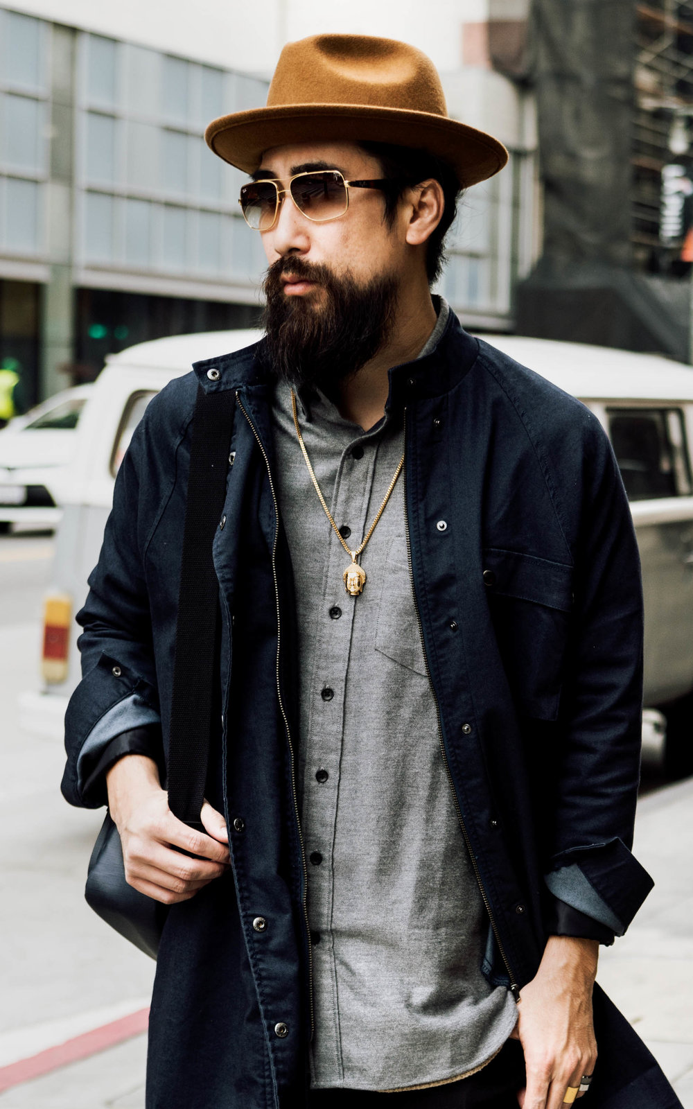 justfeng ryan feng hipster beard asian ootdmen menstyle streetstyle streetfashion los angeles beard